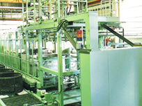 Batch type impregnation equipment