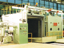 Vacuum drying equipment large motors