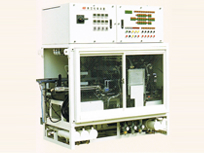 Continuous vacuum drying equipment for magnetic heads