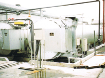 Curing autoclave for building materials